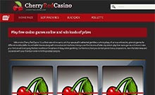 Screen by casino Cherry Red