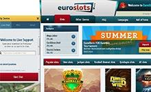 Screen by casino EuroSlots