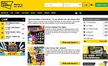 Interwetten kasino översyn skärmdump på  wyrmspel.com 1