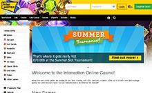Interwetten kasino översyn skärmdump på  wyrmspel.com 4