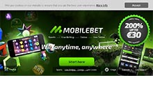 Screen by casino Mobilbet