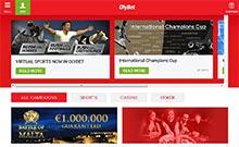 OlyBet kasino översyn skärmdump på  wyrmspel.com 1