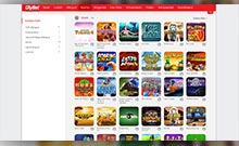 OlyBet kasino översyn skärmdump på  wyrmspel.com 4