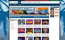 ParadiseWin kasino översyn skärmdump på  wyrmspel.com 4
