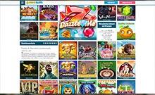 Prime Slots kasino översyn skärmdump på  wyrmspel.com 4