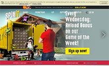 Spinit kasino översyn skärmdump på  wyrmspel.com 3