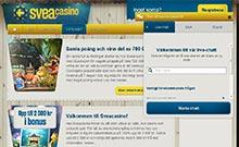 Screen by casino Sveacasino