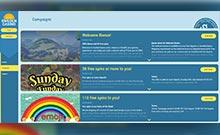 SwedenCasino kasino översyn skärmdump på  wyrmspel.com 3