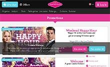 Vinnarum kasino översyn skärmdump på  wyrmspel.com 2