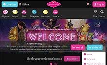 Vinnarum kasino översyn skärmdump på  wyrmspel.com 3