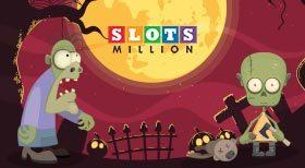 Halloween-erbjudande: Få 50 gratissnurr och kontantpriser med bonuskod ZOMBIE50