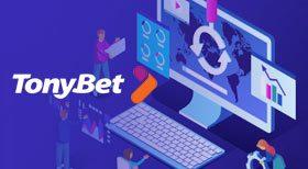 TonyBet lanserar en ny och mer robust hemsida