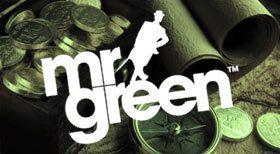 Du har blivit skickad tillbaka i tiden för att samla över 1000 Extra Spins hos Mr Green